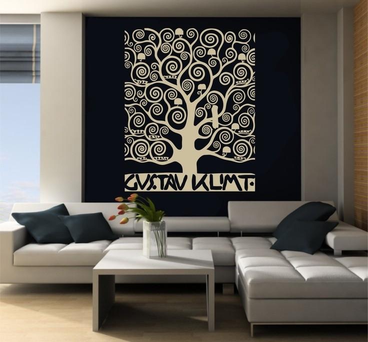 Debodesign - Stencil parete albero ...